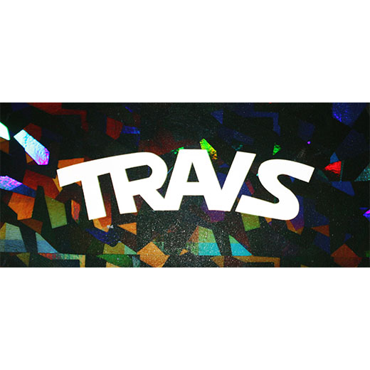 TRAVS HOLOGRAM 1/ STICKER