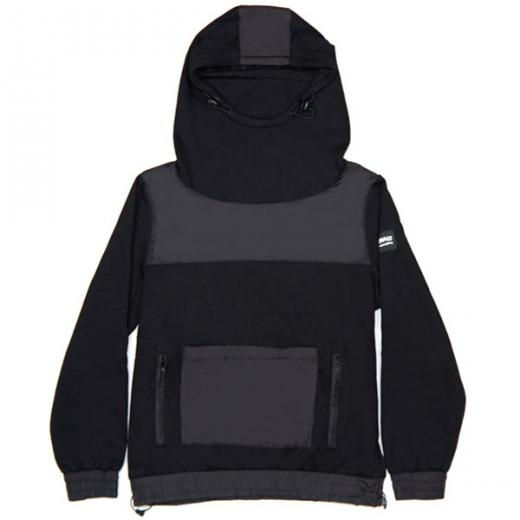 FACE MASK HOODIE [BLK]