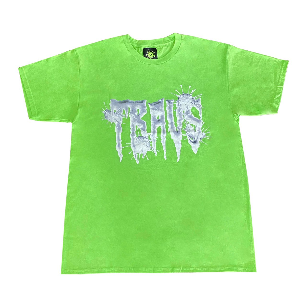 TRAVS x VIRUSWORLD REDNIGHT VIRUS TEE [GRN]
